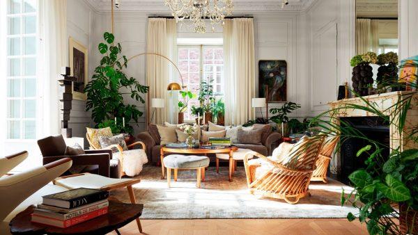 Kika in hemma hos grundarna av lyxhotellet Ett Hem