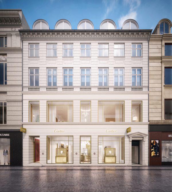 Cartier öppnar butik i Köpenhamn