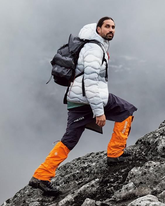 Ben Gorham gör en outdoorkollektion för Peak Performance