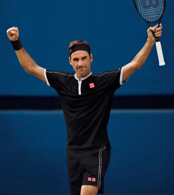 Klädd för US Open – i dag släpps Uniqlos nya matchställ för Roger Federer i butik