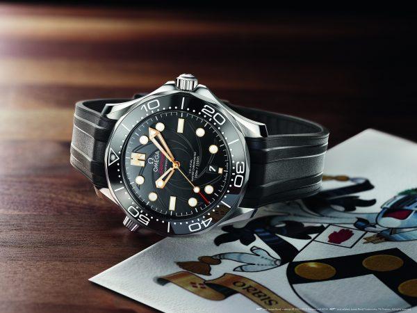 Omega presenterar nya Bondlockan Seamaster Diver 300M