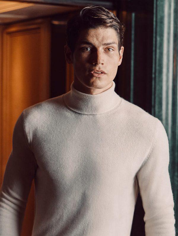 Här öppnar kashmir-märket Luca Faloni sin första svenska butik
