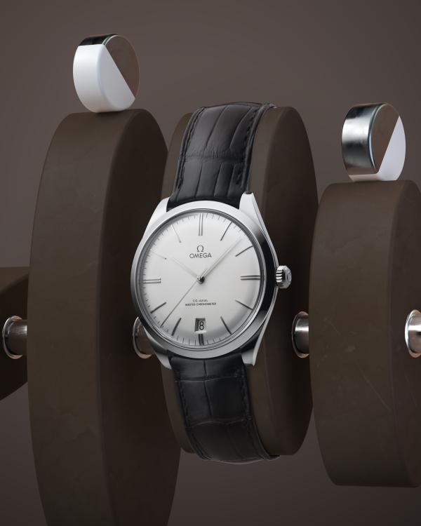 Omega inleder samarbete med svenska 3D-designern Andreas Wannerstedt