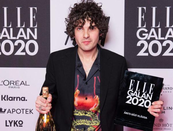 ELLE-galan 2020: Daniel Hallberg utsedd till Årets bäst klädda man