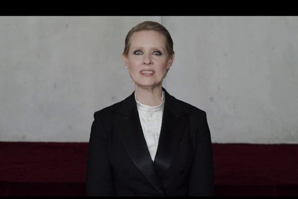 Be a lady they said – klippet med Cynthia Nixon alla borde se