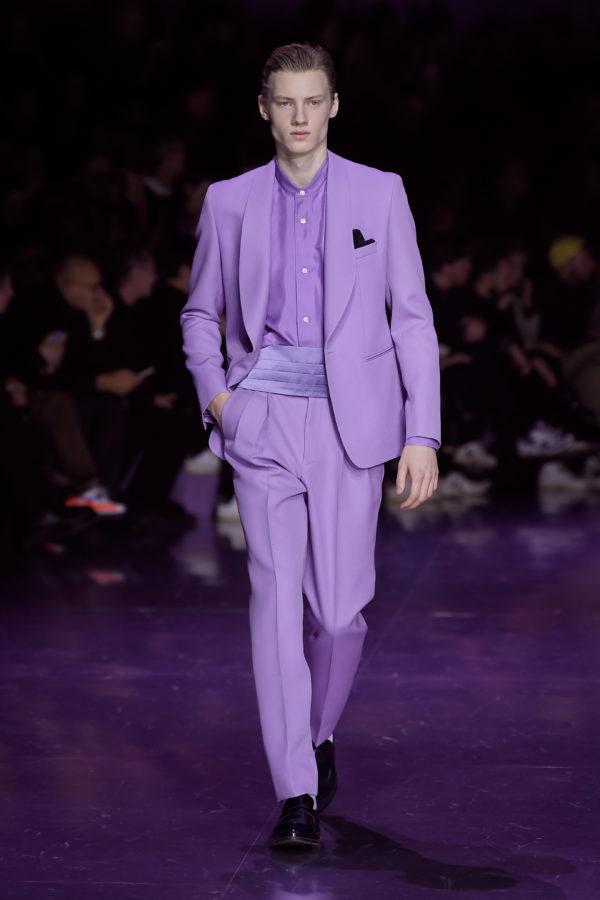 BOSS mästerliga visning under Milanos modevecka